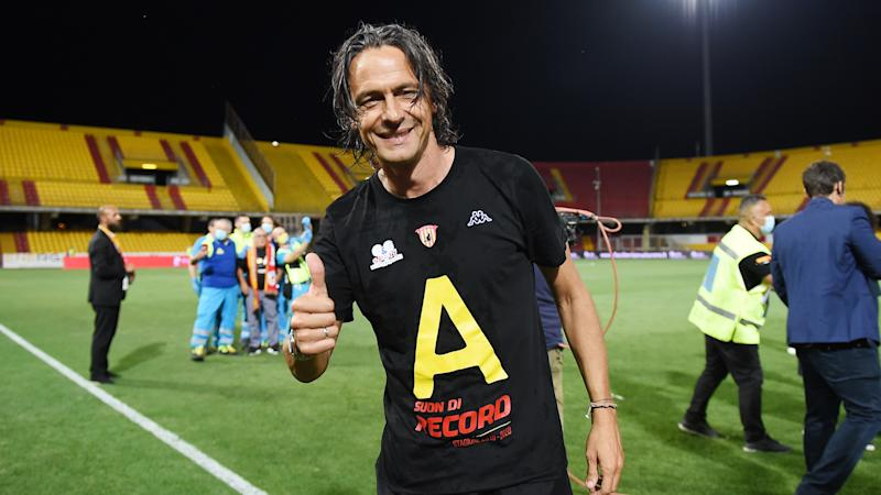 Filippo Inzaghi leads Benevento back to Serie A