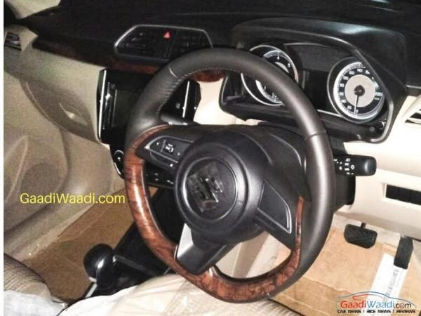2017 Maruti Suzuki Swift Dzire interior