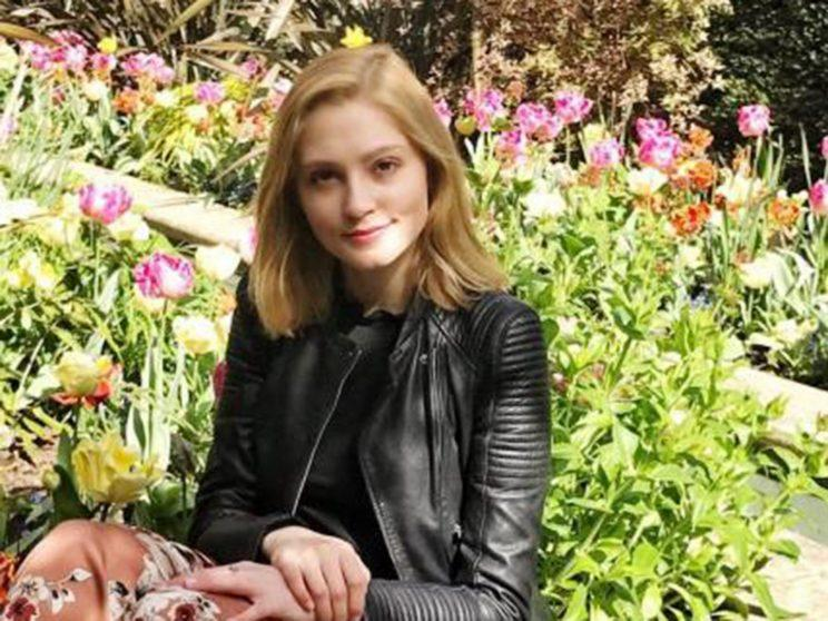 Lavinia Woodward stabbed her boyfriend in the leg