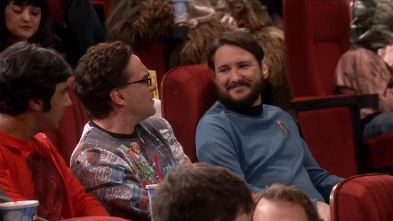 Wheaton pulled the same stunt on an episode of 'The Big Bang Theory.'