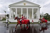 <p>One of six presidential palaces in Indonesia, this neoclassical masterpiece is located in the West Java town of Bogor. Construction of the mansion, which was originally a country retreat for the Dutch governors during Indonesia's colonial period, began in the 18th century; the building has been modified many times in the ensuing centuries, including with the addition of the front portico in the 1950s following Indonesian independence.</p>