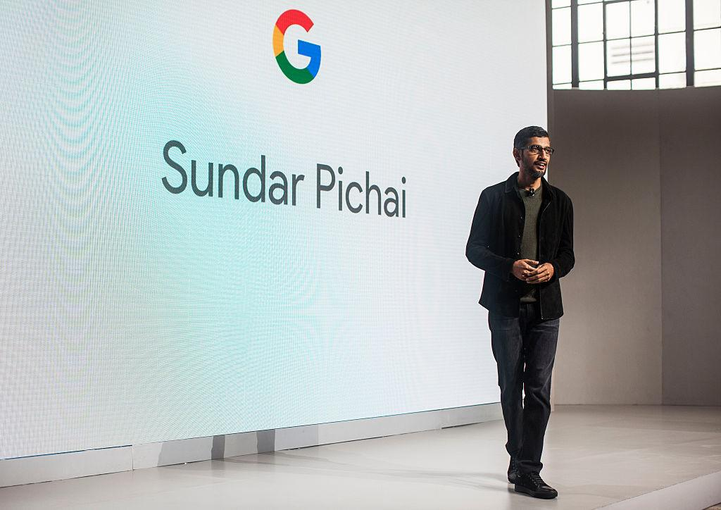 "<p>Google CEO Sundar Pichai ripped Trump's move in a note to employees, saying more than 100 staff had been affected. <br />""It's painful to see the personal cost of this executive order on our colleagues,"" Pichai wrote in the memo.<br />""We've always made our view on immigration issues known publicly and will continue to do so.""(Photo by Ramin Talaie/Getty Images) </p>"