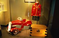 <p>Diana's school uniform, toy pedal car, and trunk were later displayed at the family estate after her death. The memorial was closed in 2014, when the items from the exhibit were passed to her sons, William and Harry.</p>