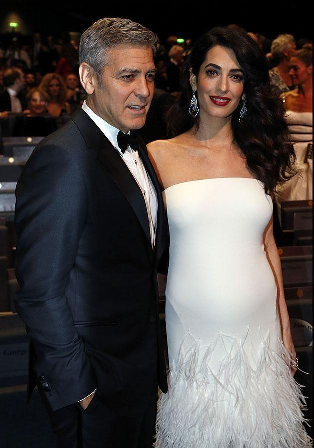 Amal has taken drastic action in her third trimester. Source: Getty