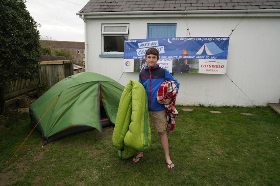 The 11-year-old was raising funds for the North Devon Hospice which cared for a family friend (Woosey family/PA).