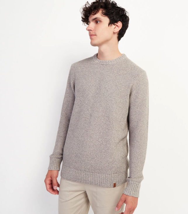 Canoe Lake Crew Sweater. Image via Roots.