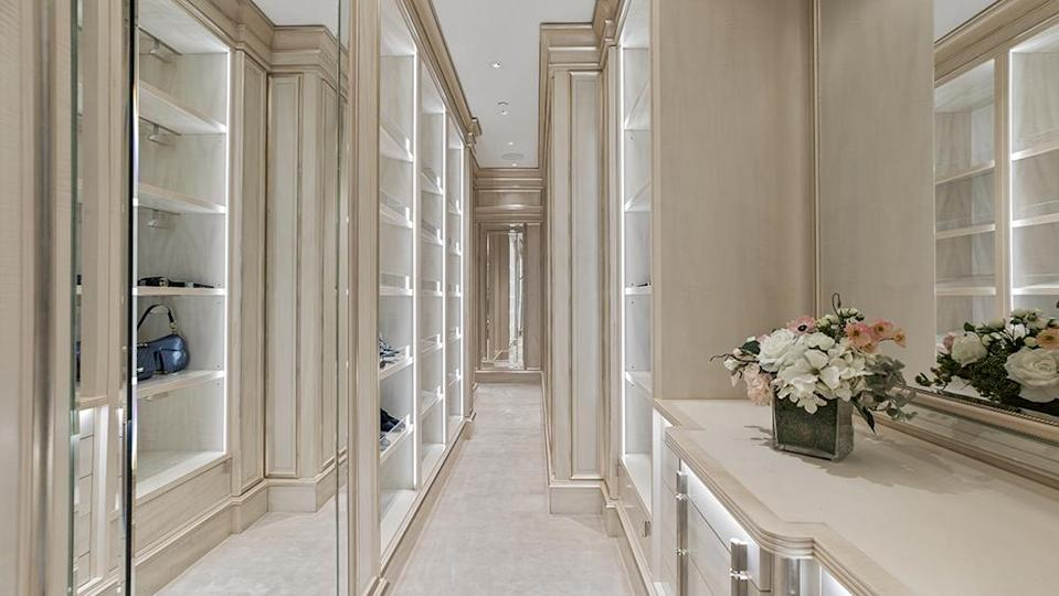 A dressing room - Credit: Photo: Anthony Barcelo/Compass