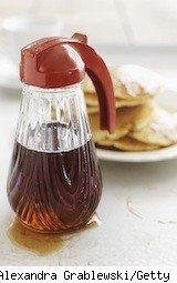maple syrup and pancakes - friday freebies