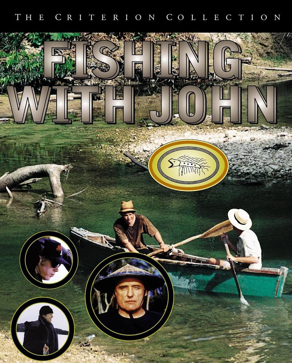 "<div class=""caption""> <em>Fishing With John</em> </div> <cite class=""credit"">Courtesy of The Criterion Collection, IFC, and Bravo</cite>"