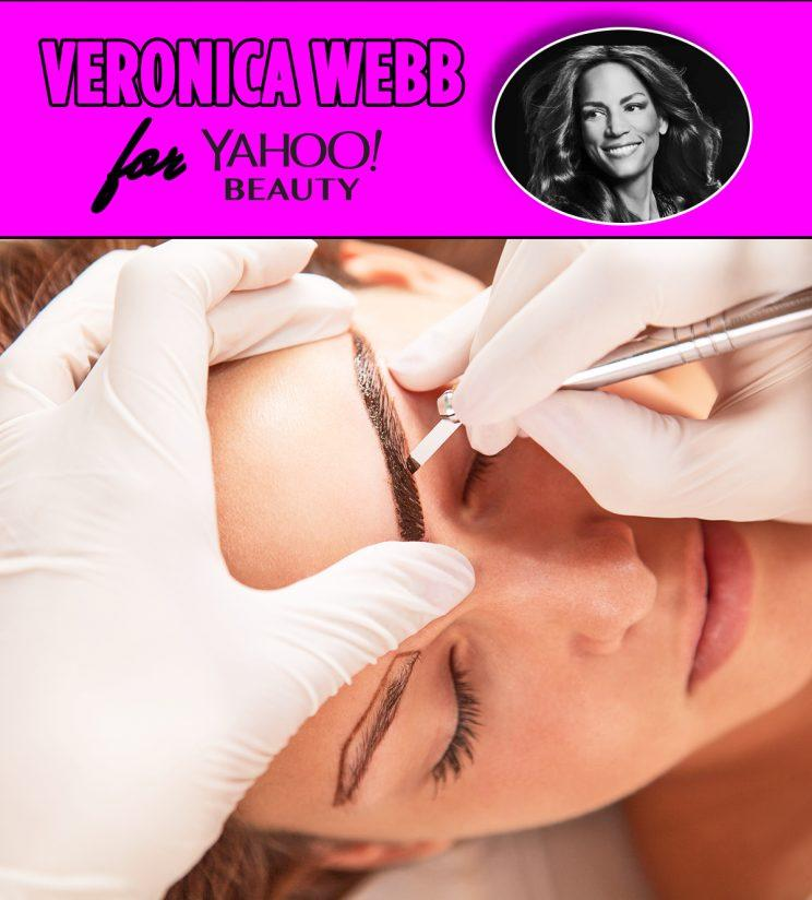 microblading, eyebrows