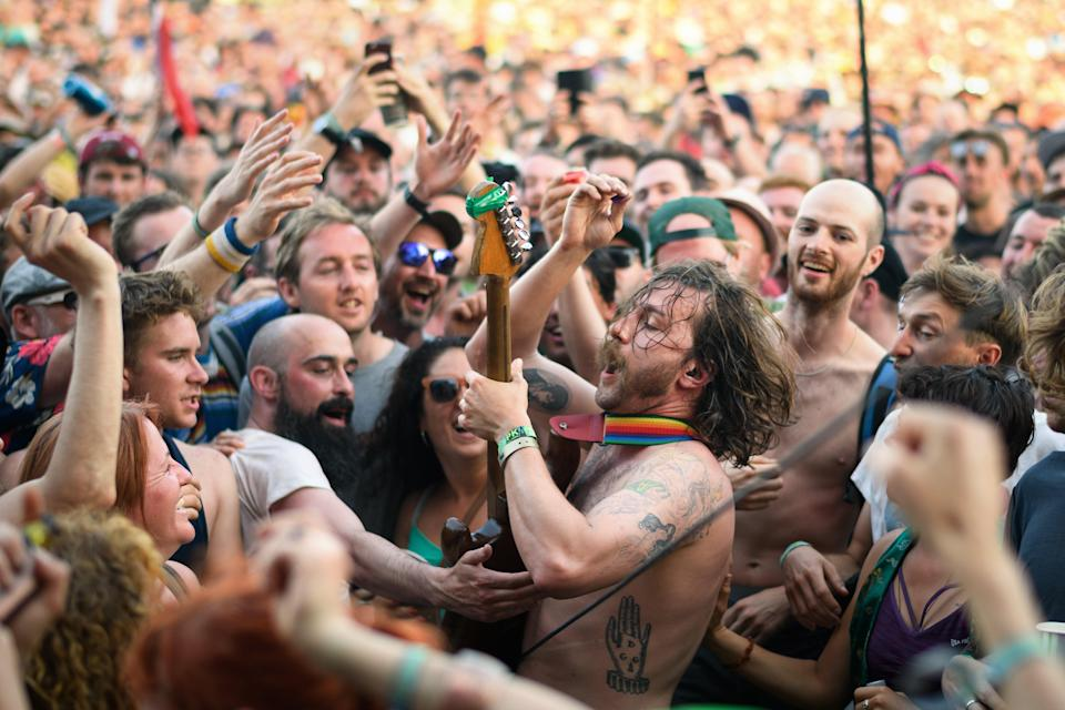 Many festivals are hoping to return this summer (Getty Images)
