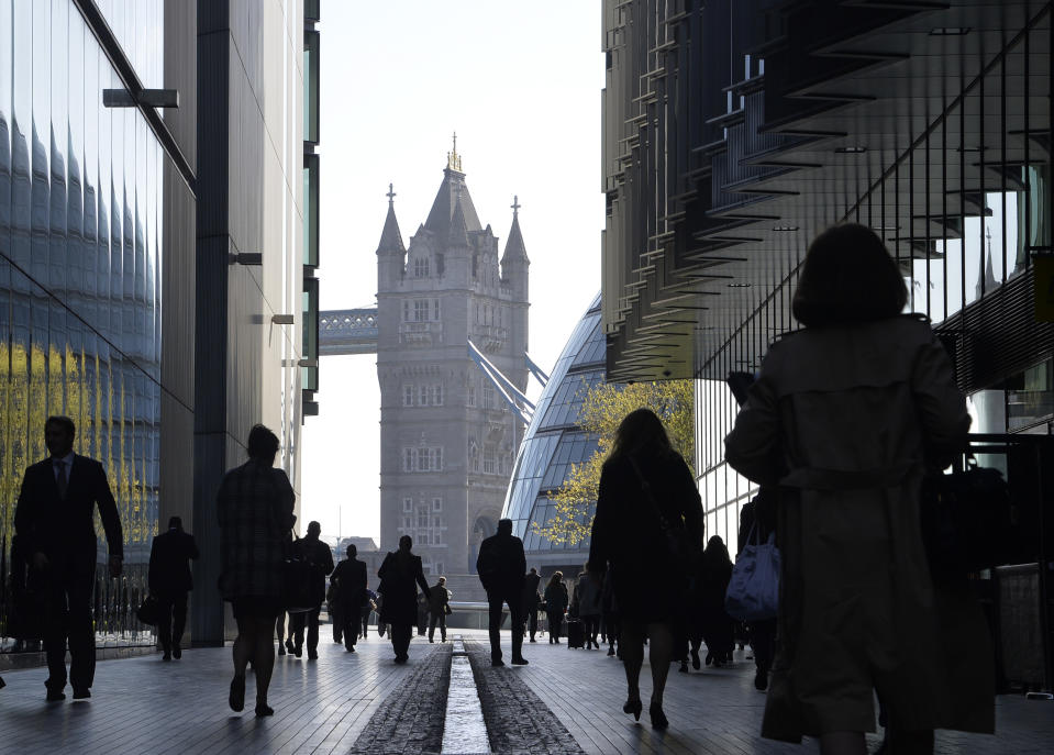 Tower Bridge partially visible from Southwark, London. Photo: Toby Melville/Reuters