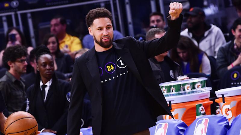 Klay Thompson scrimmaging in Warriors camp not crucial, Steve Kerr says