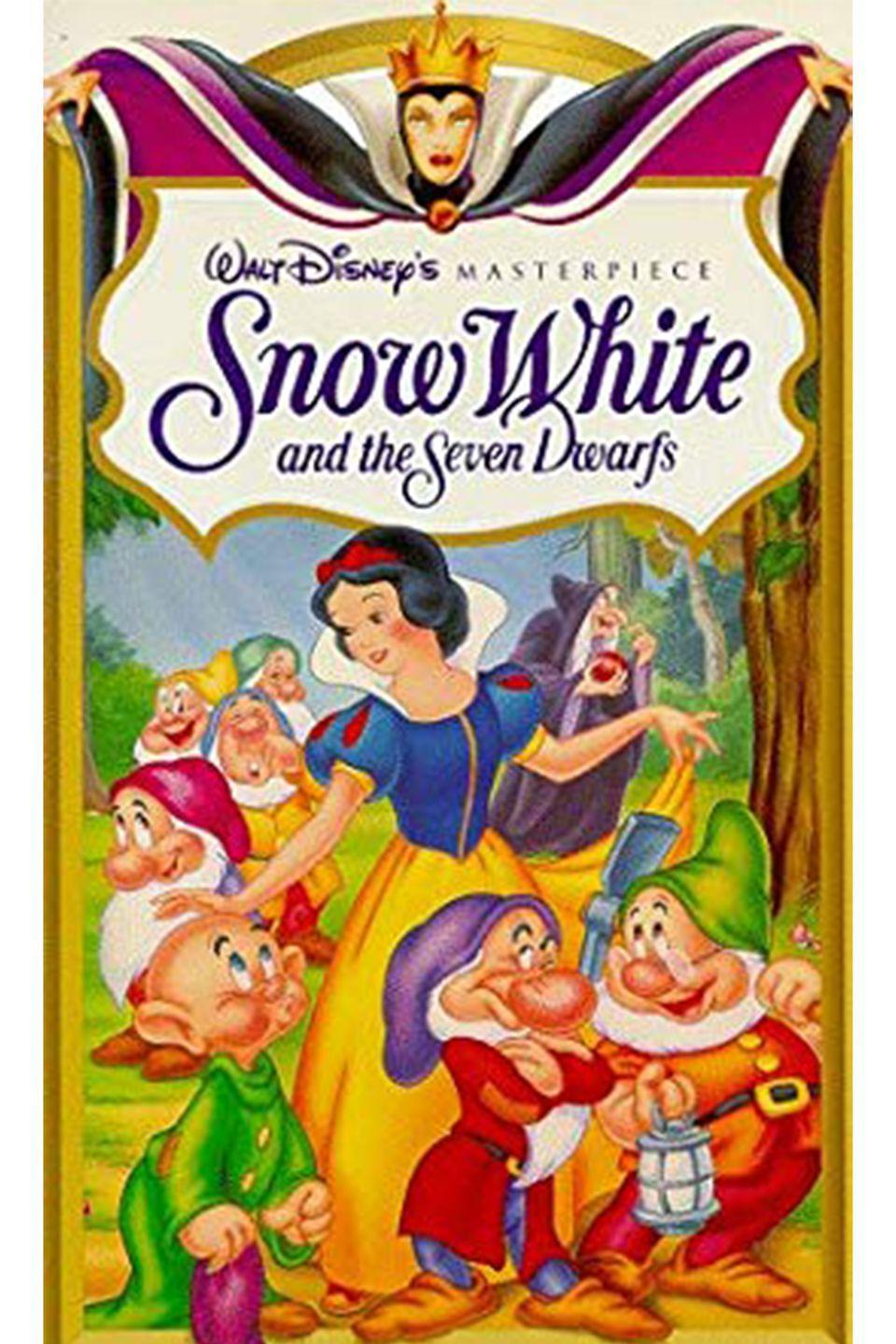 "<p>Nope, that wasn't a line in <em>Snow White</em> either. In fact, <a href=""https://www.youtube.com/watch?v=Br0DCEEBplY"" rel=""nofollow noopener"" target=""_blank"" data-ylk=""slk:the Wicked Queen says"" class=""link rapid-noclick-resp"">the Wicked Queen says</a>, ""Magic mirror on the wall..."" Yep, our childhood has been ruined too.</p>"