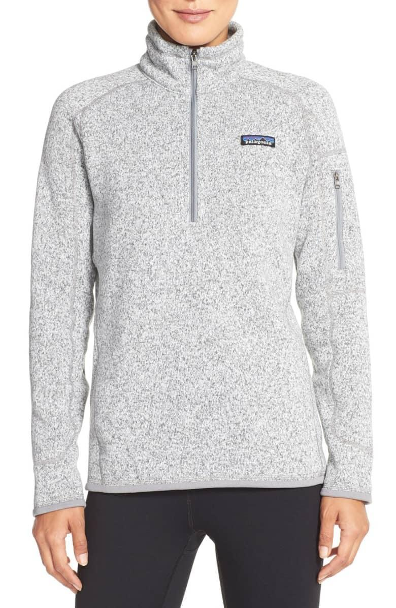 <p>If you don't have a great base layer, good luck out there. This <span>Patagonia Better Sweater Jacket</span> ($99) is an absolute essential.</p>