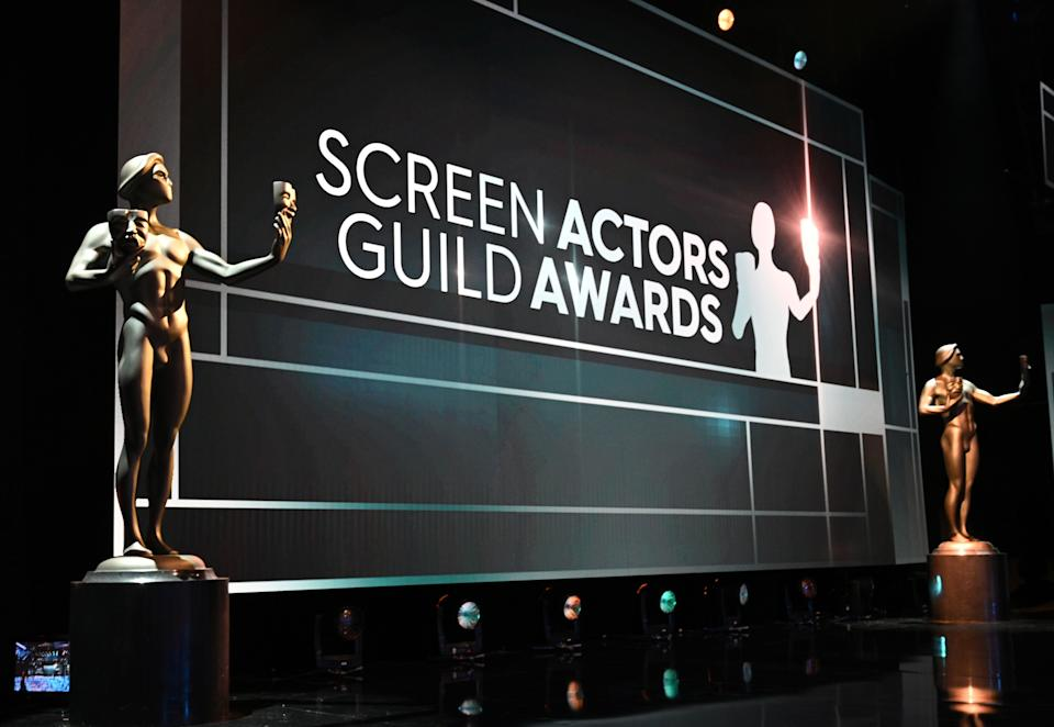 This year's SAG nominations chose to honor a slew of projects snubbed by the Golden Globes. (Photo: ROBYN BECK via Getty Images)
