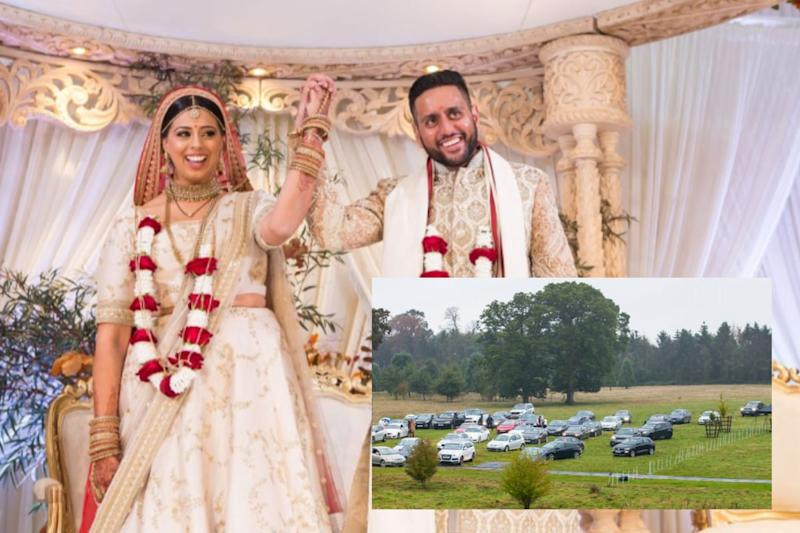 Come Rain or Pandemic: Desi Wedding Drive-in Managed to Beat Covid-19 Restrictions in UK