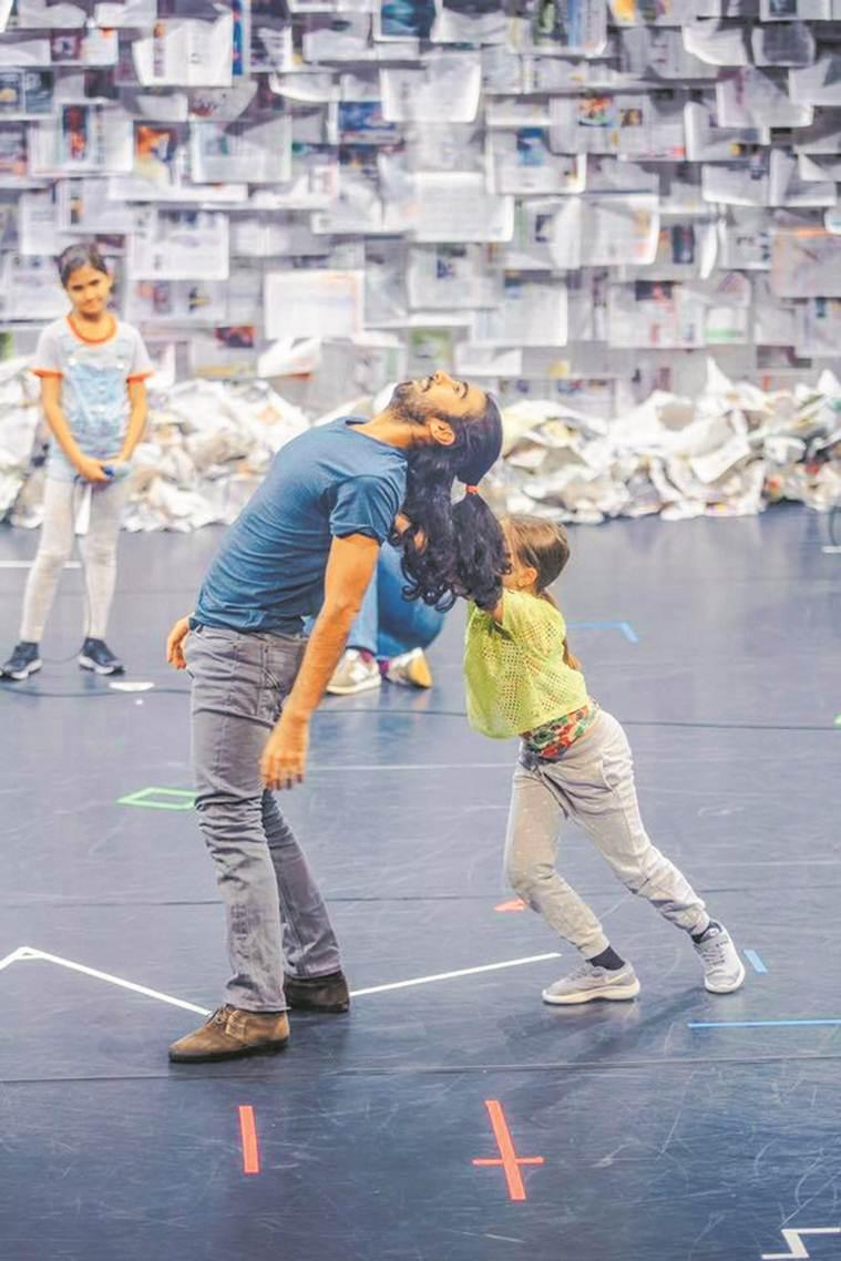 Akshay Sharma, Two Feet and Seven Thousand Words, dance duet, Contemporary Dance form, music and dance, indian express news
