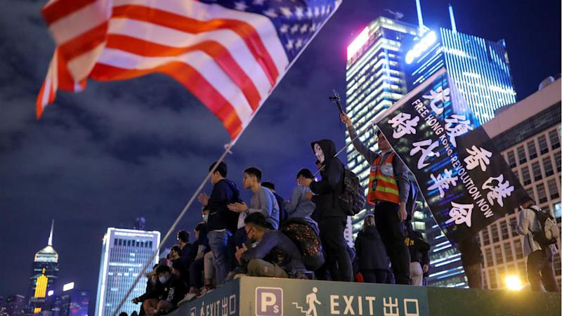China sanctions US over 'unreasonable behaviour' in Hong Kong unrest