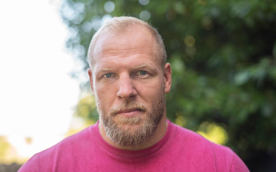 James Haskell portrait - David Rose