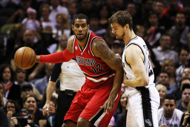 Sources: Trail Blazers presented max extension to LaMarcus Aldridge's representatives