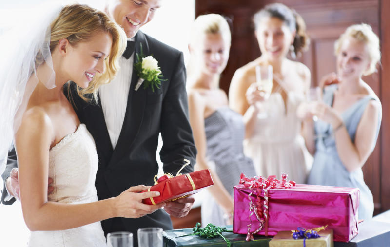 Choosing a gift can be tricky, so one bride decided to be very, very specific. Photo: Getty Images