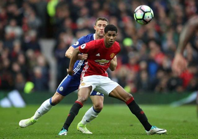 Marcus Rashford scored as Manchester United beat Chelsea