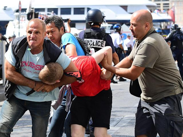 Russian hooligans are the most organised and ruthless in the world: Getty