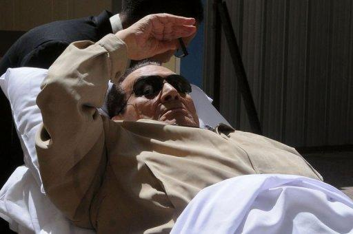 Hosni Mubarak the only dictator toppled in the Arab Spring to be tried in person