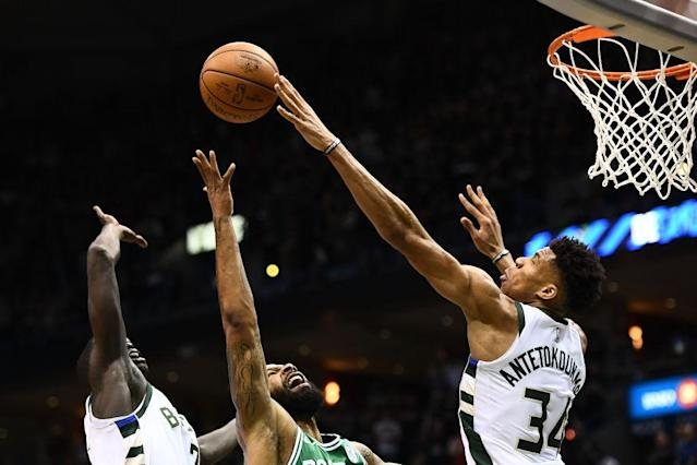 Giannis Antetokounmpo is Milwaukee's best offensive initiator and its best rim protector, and one of the few players in the league who can legitimately guard all five positions without breaking a sweat. (Getty)