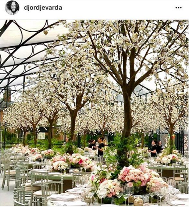According to sources, the theme was 'Enchanted Forest'. Photo: Instagram