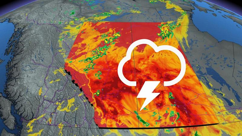 Intense heat with severe storms expected on the Prairies