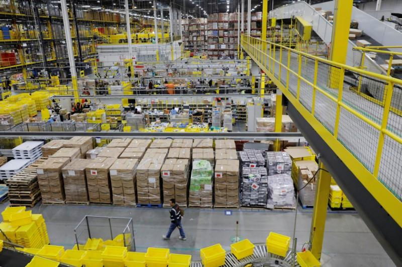 Sellers' Amazon loans at risk as company limits warehouses to essential goods