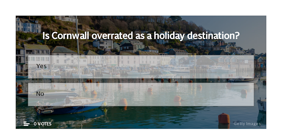 Is Cornwall overrated? Poll