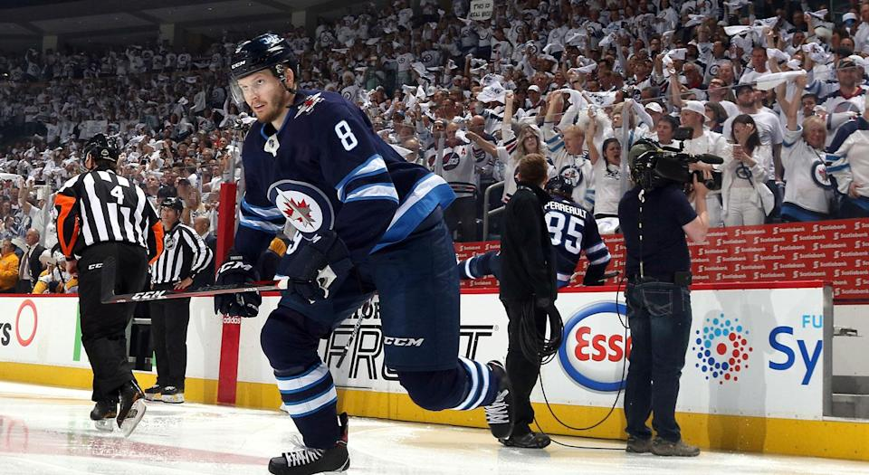 What's next for Jacob Trouba and the Jets? (Getty)