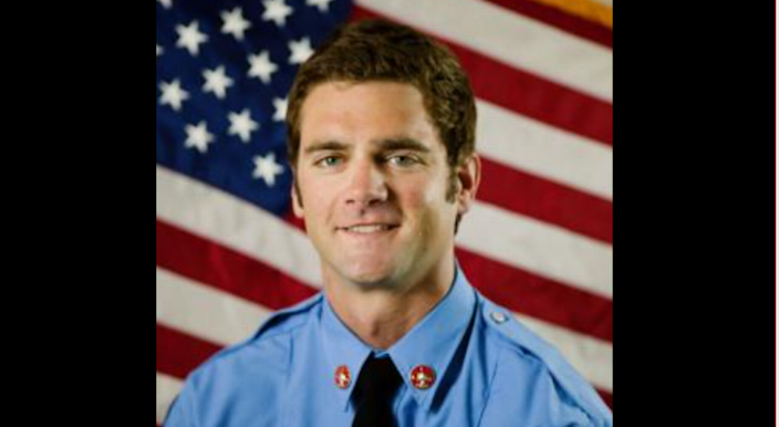 Firefighter/paramedic Andrew Williams