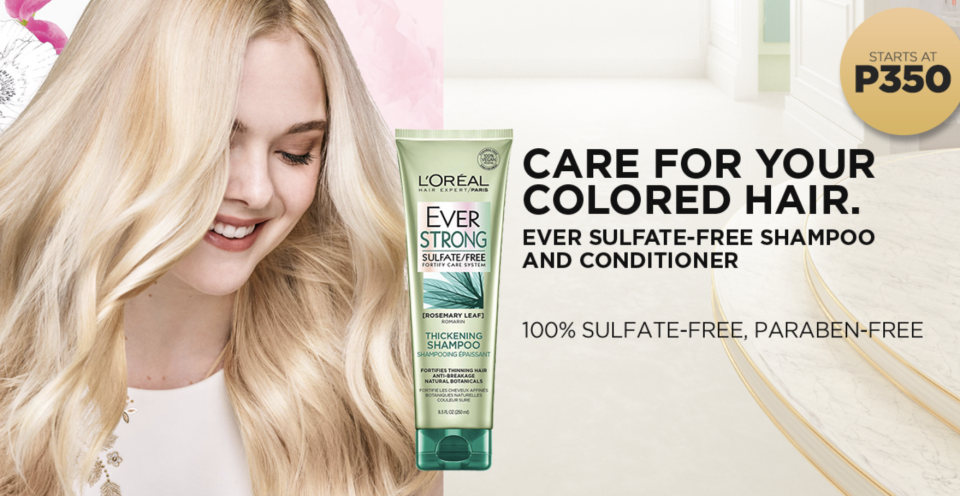 L'Oreal: TLC for your hair and skin. PHOTO: Lazada