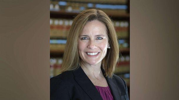 PHOTO: U.S. Circuit Judge Amy Coney Barrett is a former law professor at the University of Notre Dame. (University of Notre Dame Law School)