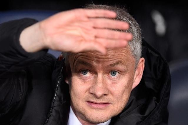 Harsh spotlight: Manchester United manager Ole Gunnar Solskjaer (AFP Photo/Josep LAGO)