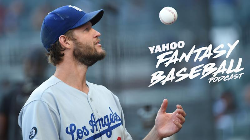 Scott Pianowski is joined by Rob Silver to discuss the aging, yet still effective arm of Clayton Kershaw on the Yahoo Fantasy Baseball Podcast. (Photo by Logan Riely/Getty Images)