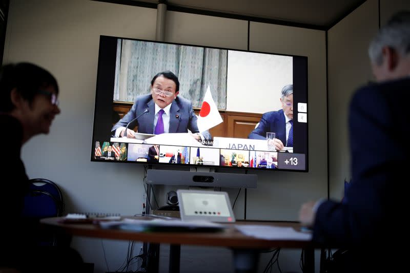 Japan's economic conditions likely to stay tough in current quarter, finance minister says
