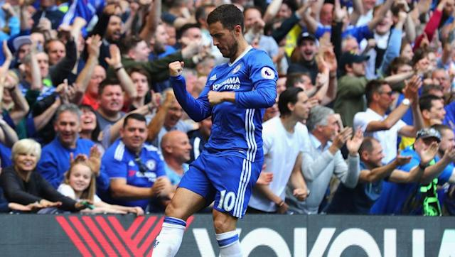 <p>Chelsea's main superstar has been absent for the first few weeks of this season through injury but that has not stopped the Belgian racking up the shirt sales, with the winger undoubtedly one of the most talented players in the top flight.</p>