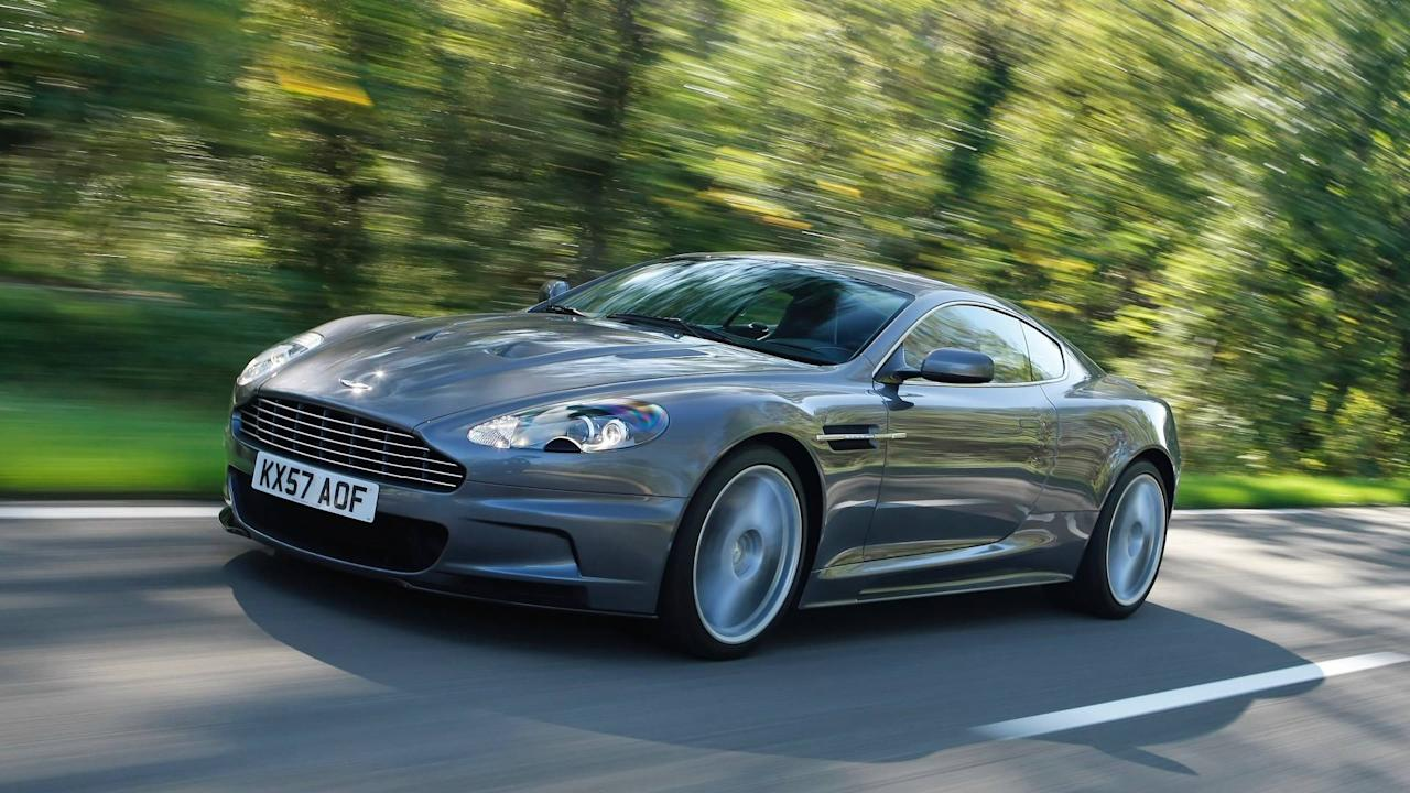 <p>The DBS name was revived in 2007 and made its debut in Daniel Craig's first Bond film, Casino Royale. This 510bhp version of the DB9 remained in production until 2012 and was also available as a Volante convertible.</p>