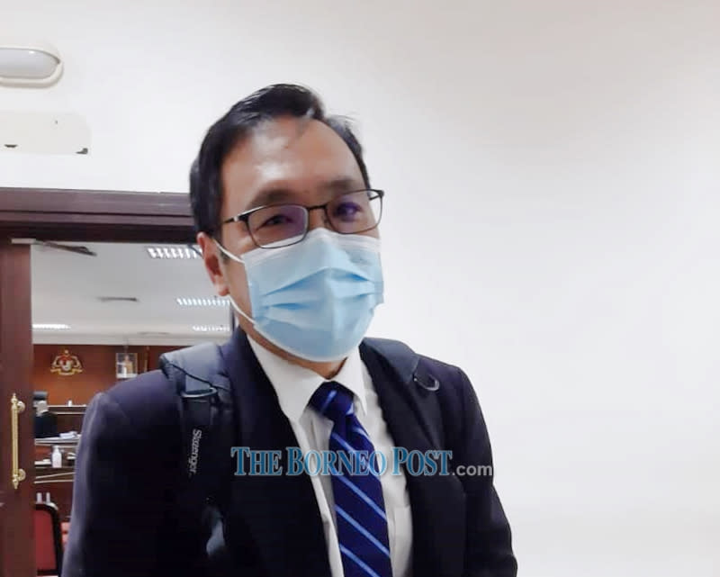 Sarawak DAP chairman Chong Chieng Jen urged the state government to allocate 10 per cent of the state's reserve to help the business sector. — Borneo Post Online pic
