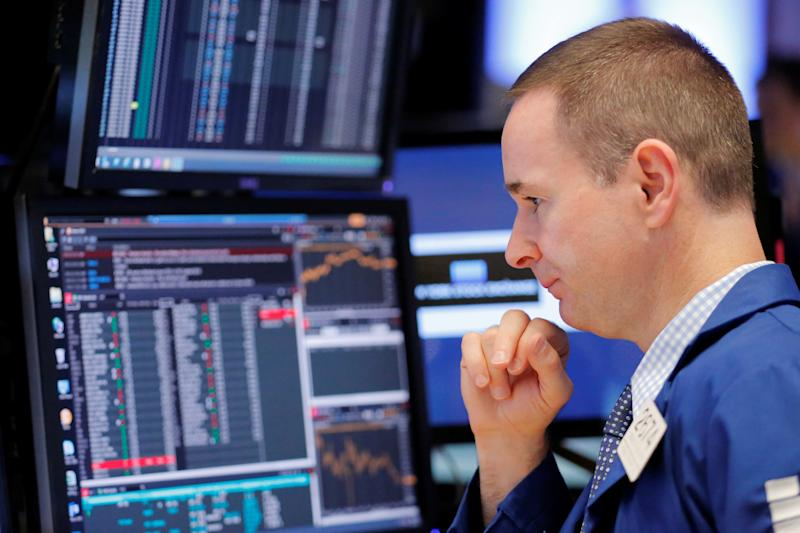 Stocks fall hard amid rising interest rates and earnings fears