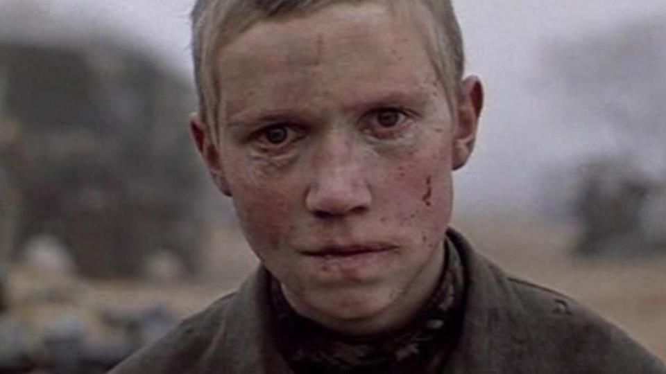 <p> Some of the most horrific images shot by wartime correspondents include children. They're innocents, in the wrong place at the wrong time. It's that child's eye view of war which drives home the horrors of the Nazi-occupied Soviet Republic in Come and See. Inspired by the experiences of a survivor, the movie follows young lad Florya (Aleksey Kravchenko) as he's lured away from his family to help fight the Resistance. It's only when he attempts to return home that he witnesses the hallucinatory terrors implied by the title (e.g. villagers herded into a church, into which grenades are then thrown). Hard-hitting in its unflinching approach to the material, there's no stone left unturned when it comes to the atrocities the Nazis committed in Belarus. </p>