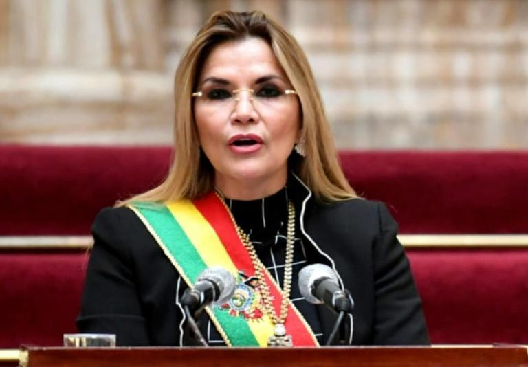 Anez, a former senator, took over as caretaker president after Evo Morales left Bolivia in November 2019
