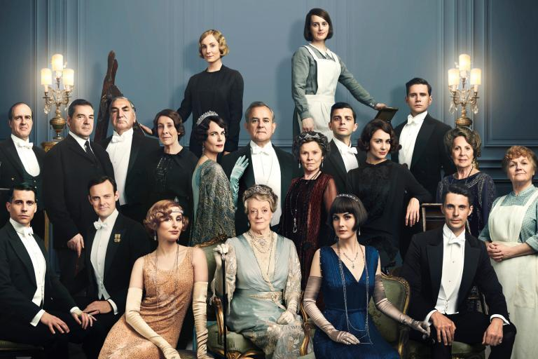 Downton Abbey film: Teaser poster gives fans a first look at two new characters