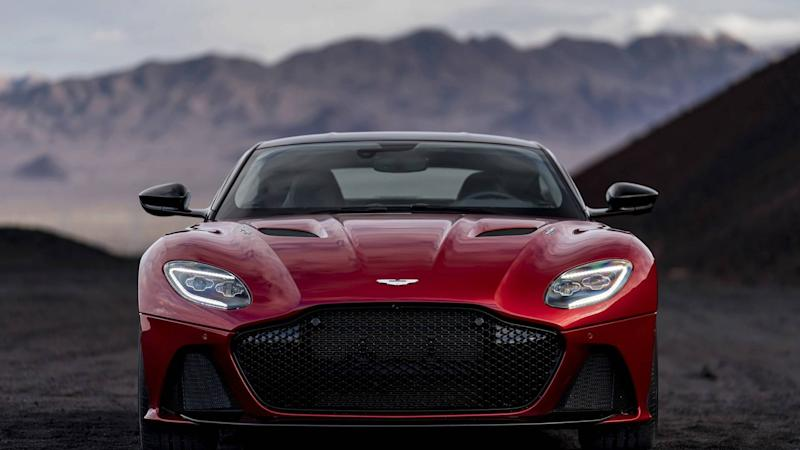 aston martin launches dbs superleggera configurator. Black Bedroom Furniture Sets. Home Design Ideas