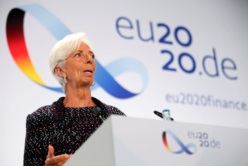 ECB's Lagarde shifts burden to governments to aid recovery